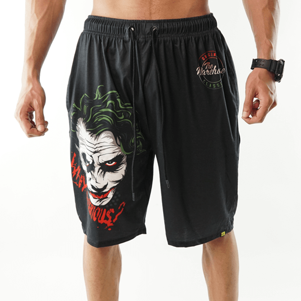 Why So Serious Printed Shorts