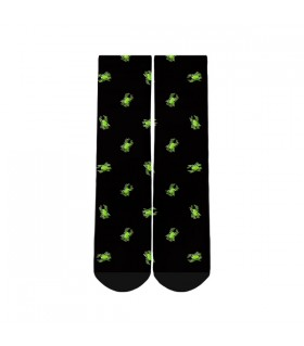 spiders printed socks