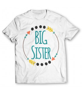 big sister printed graphic t-shirt