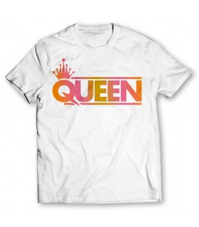 queen printed graphic t-shirt