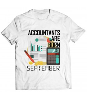 accountant printed graphic t-shirt