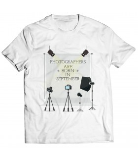 photographer printed graphic t-shirt