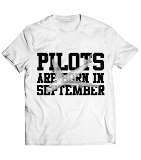 pilot printed graphic t-shirt