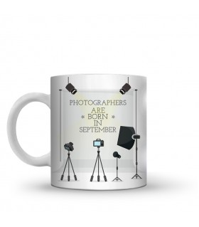 photographer printed mug