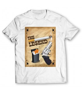the legend printed graphic t-shirt