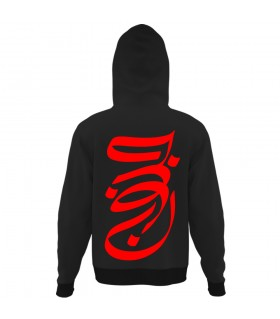 sooper junoon all over printed hoodie