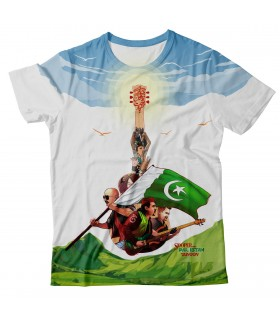 sooper junoon all over printed t-shirt