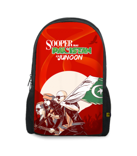 sooper junoon printed backpacks