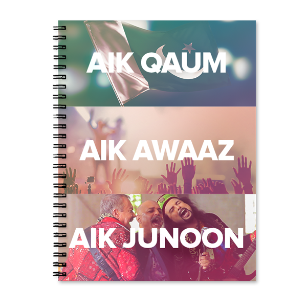 Sooper Junoon Printed Notebook