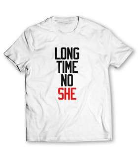 long time printed graphic t-shirt
