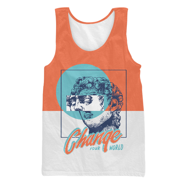 Change Your World UNISEX TANK TOP