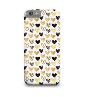 loving hearts printed mobile cover