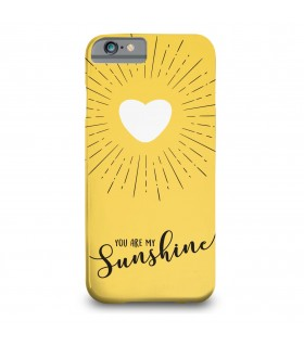 sunshine printed mobile cover