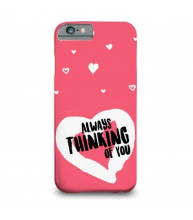 thinking of you printed mobile cover