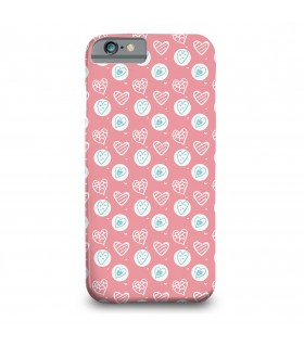 Hearts Pattern printed mobile cover