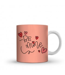 Be mine printed mug