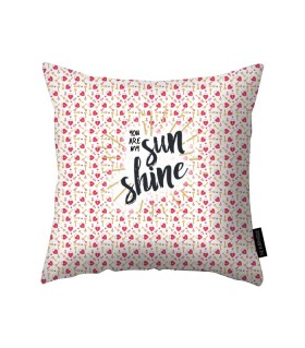 you are my sunshine printed pillow