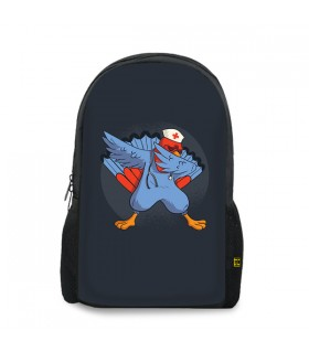 Turkey Dab Nurse printed backpacks