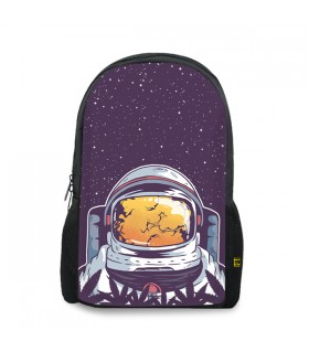Astronaut smoke printed backpacks