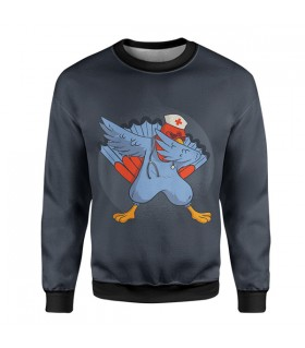 turkey dab sweatshirt