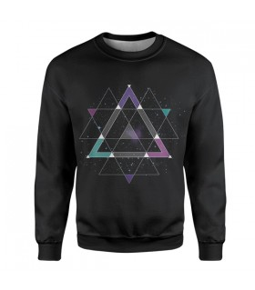 Geometric Space sweatshirt
