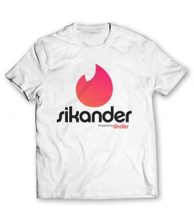 sikander printed graphic t-shirt