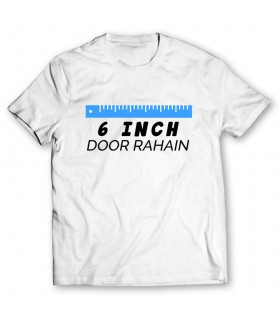 6 inch door printed graphic t-shirt