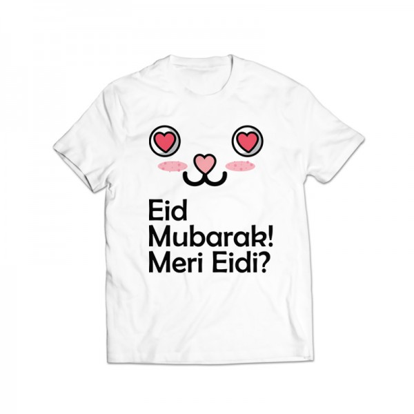 meri eidi printed graphic t-shirt