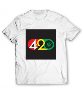 420 printed graphic t-shirt
