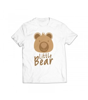 little bear printed graphic t-shirt