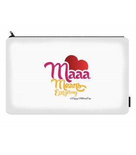 maaa printed makeup pouch
