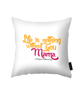 mama printed pillow