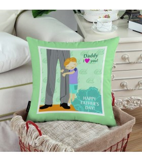 HAPPY FATHER DAY PRINTED Pillow