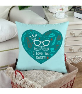 i love you daddy printde pillow