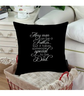special dad printed pillow