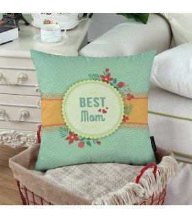 BEST MOM PRINTED pillow