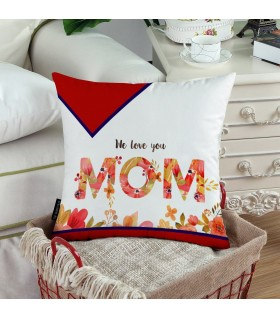 WE LOVE YOU MOM PRINTED Pillow