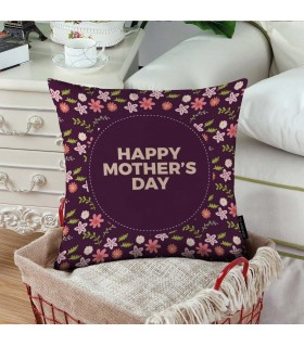 pattren happy mother day  printed pillow