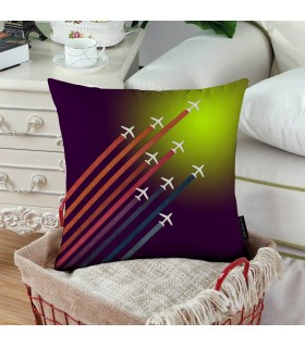 Aerial Acrobat Printed Pillow
