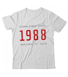 1988 PRINTED GRAPHIC T-SHIRT
