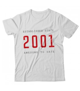 2001 PRINTED GRAPHIC T-SHIRT