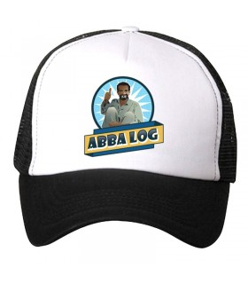 abba log art printed cap