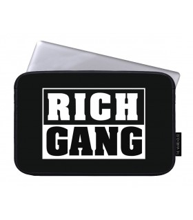 rich gang art printed laptop sleeves