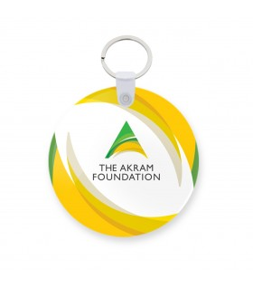 The Akram Foundation keychain