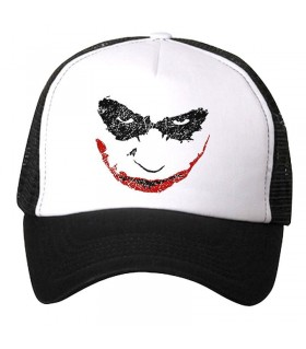 bad smile art printed cap