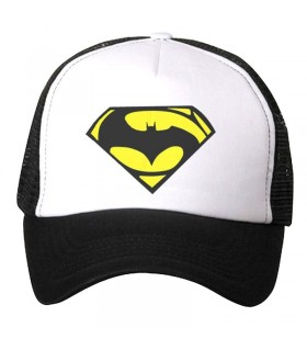 bat man logo art printed cap