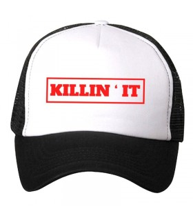 killin it art printed cap
