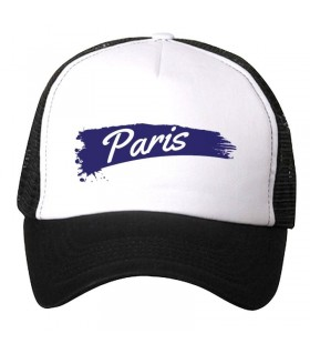 paris art printed cap