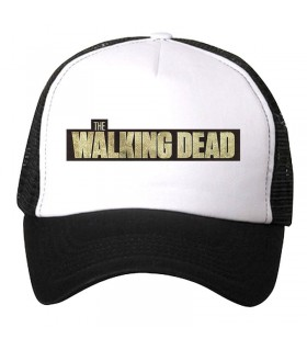 the walking dead art printed cap