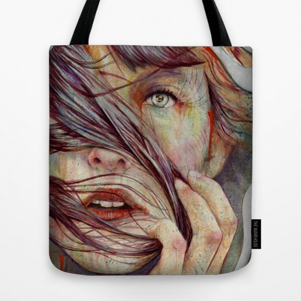 Painting Art Printed  Tote Bag